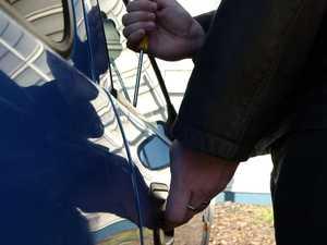 No car safe in man's alleged crime spree