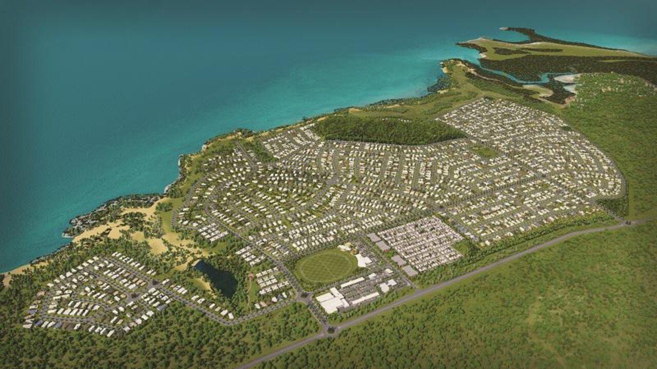Bowen's Whitsunday Paradise development will likely be presented to the council in late October. Photo: Contributed