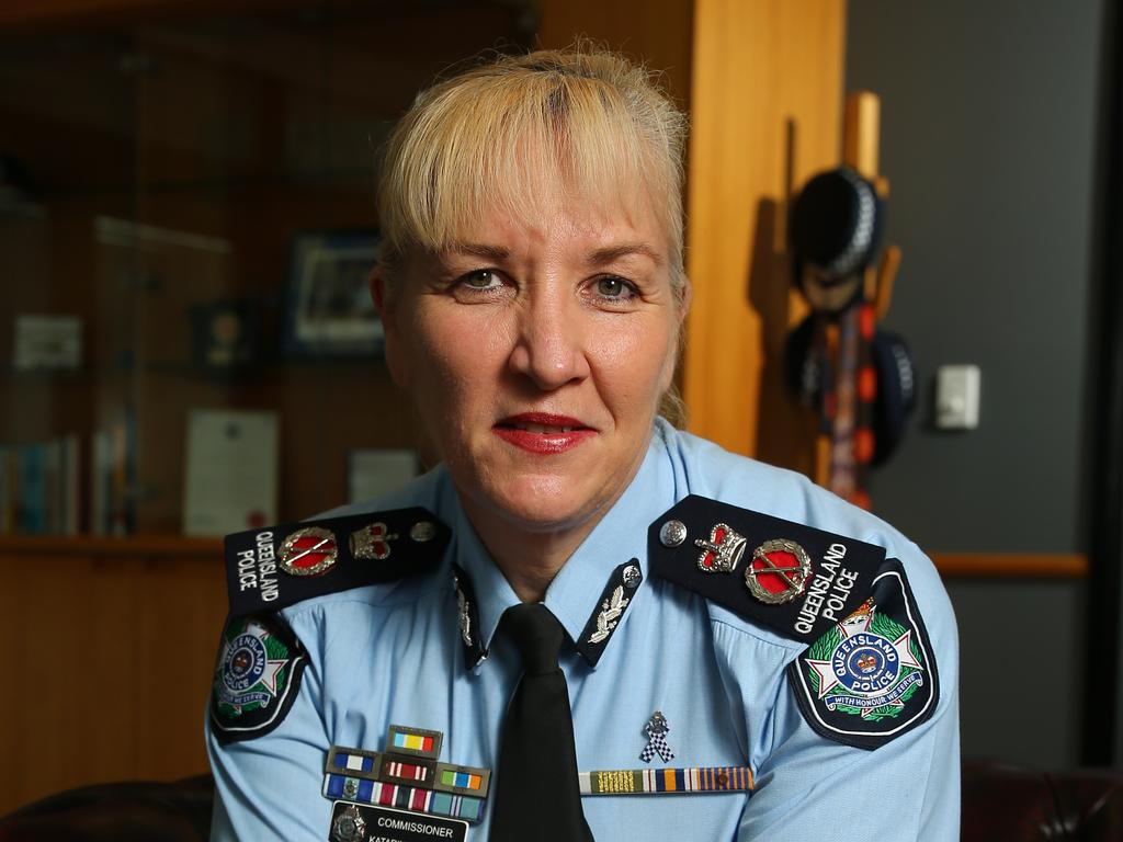 Queensland Police Commissioner Katarina Carroll. Picture: AAPimage/David Clark