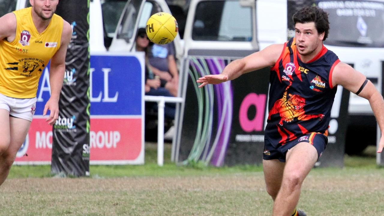Noosa Tigers player Mitch Fraser. Picture: Craig Slaney Photography