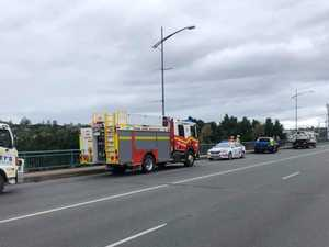 Crash on Ipswich bridge causes traffic delays
