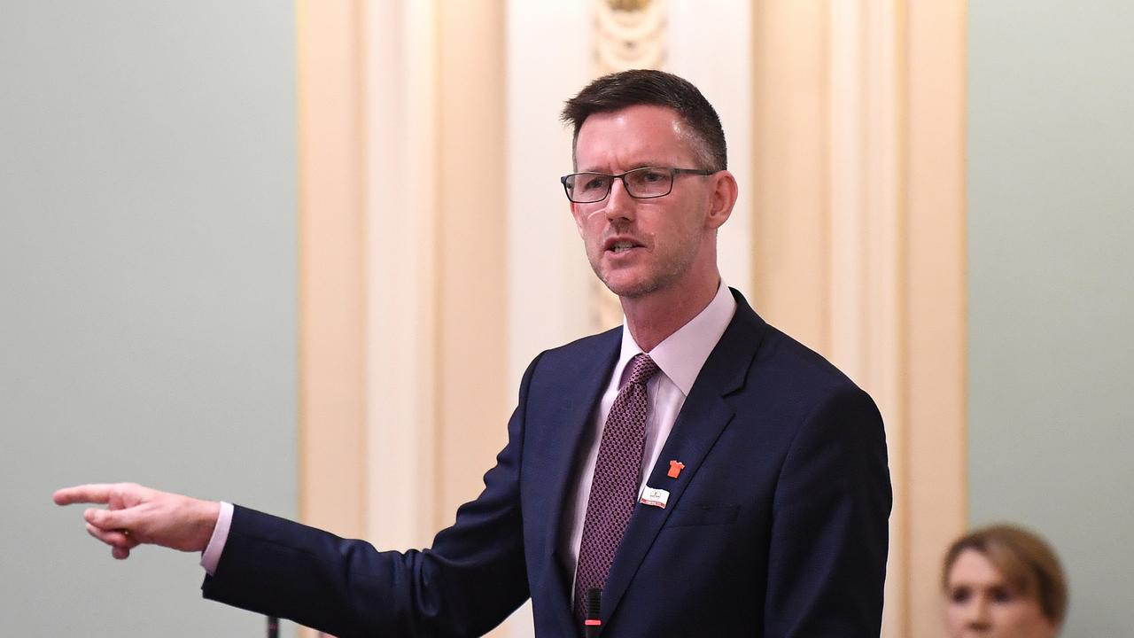 Queensland Transport Minister Mark Bailey said renewables have been cheaper than building new coal-fired power generators for years. Photo: NCA NewsWire / Dan Peled