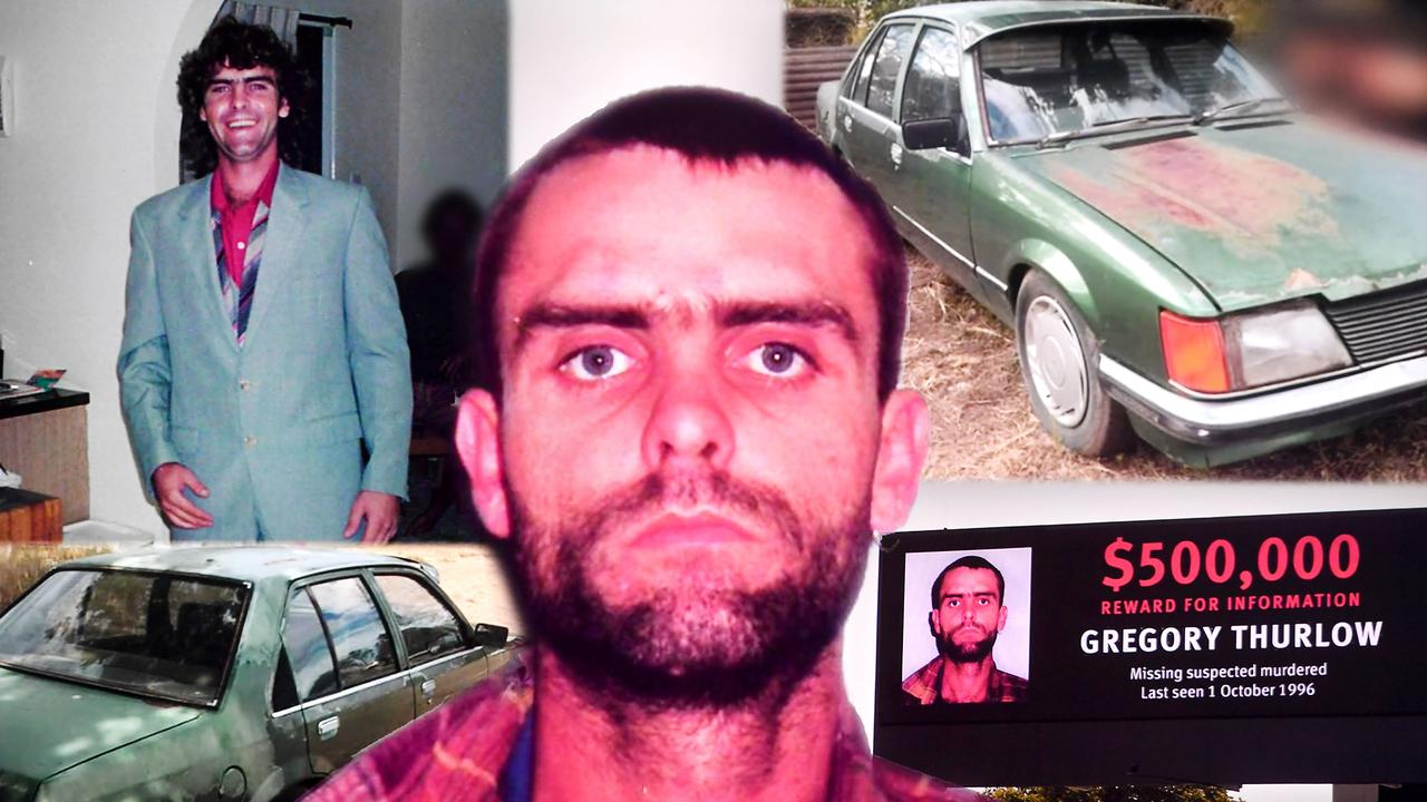 Gregory Thurlow disappeared in 1996. Picture: NewsWire / John Gass