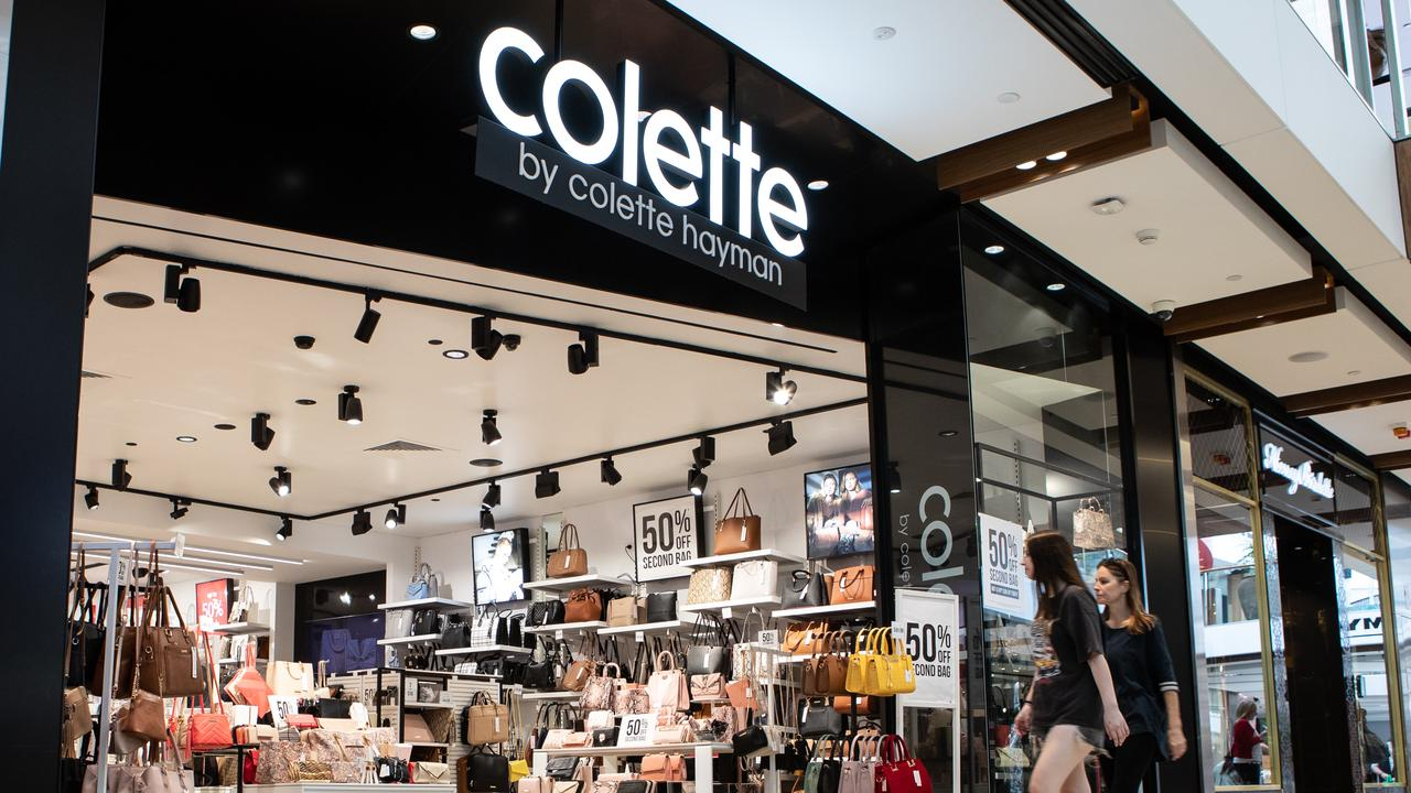 Colette by Colette Hayman has been saved from folding but the majority of its stores are set to close down in another blow to Australia's retail sector.