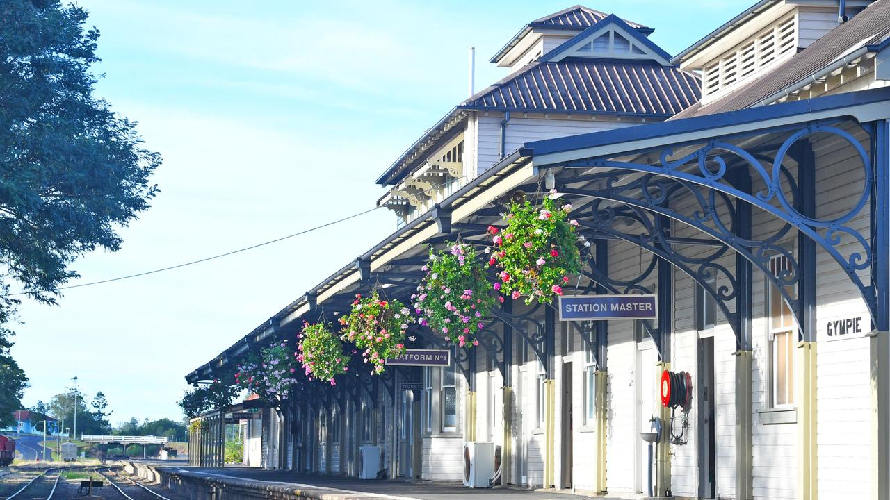 The Historic Mary Valley Rattler Station in Gympie. Picture: Shane Zahner