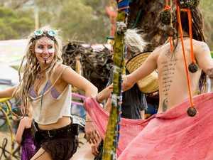 Bush doofs: Hundreds of stoned 'half naked hippies' not on
