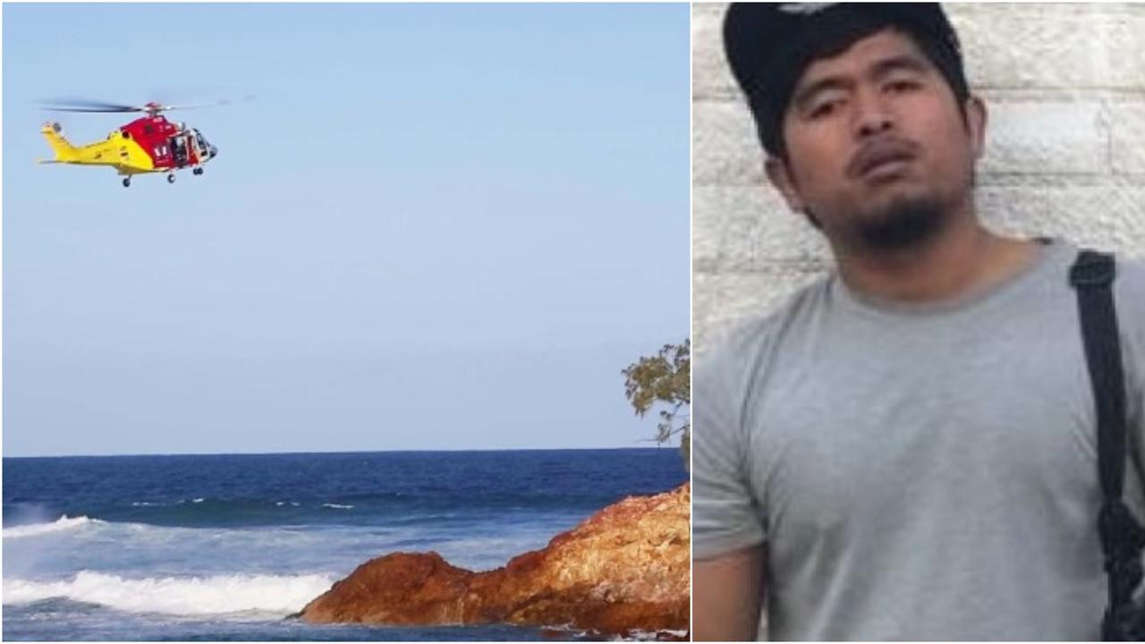 Nik Hafizi Nik Long went missing after he was washed off a rock at Red Rock headland on August 29.