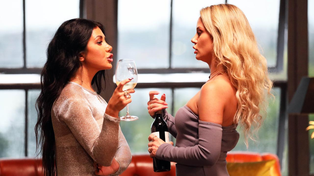 Martha Kalifatidis and Jessika Power on Married At First Sight.