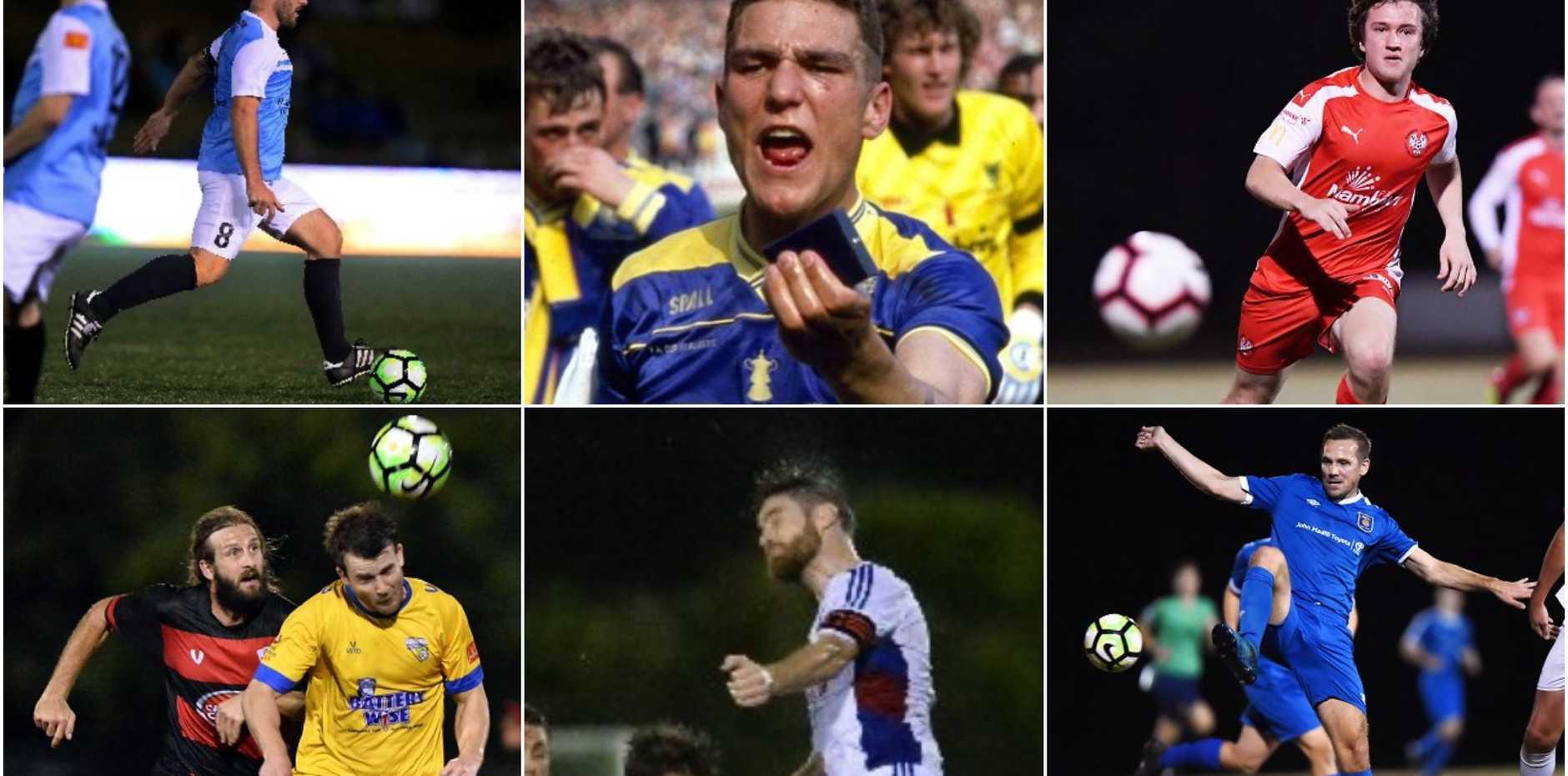 The top 10 hardmen of Sunshine Coast Football premier men's.
