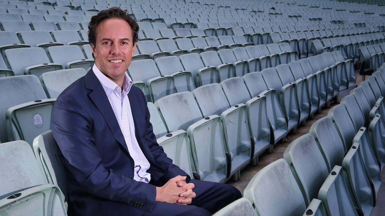Big Bash League executive Anthony Everard says the BBL will still be a high quality product. Picture: Hamish Blair