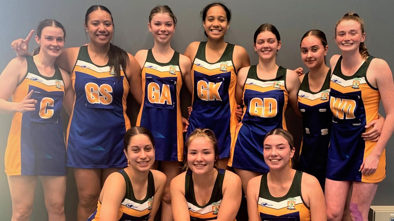 Players in the St Peter Claver College Open netball team gave their all to win the CISSSA and Brisbane Metropolitan premiership for the first time in 15 years.