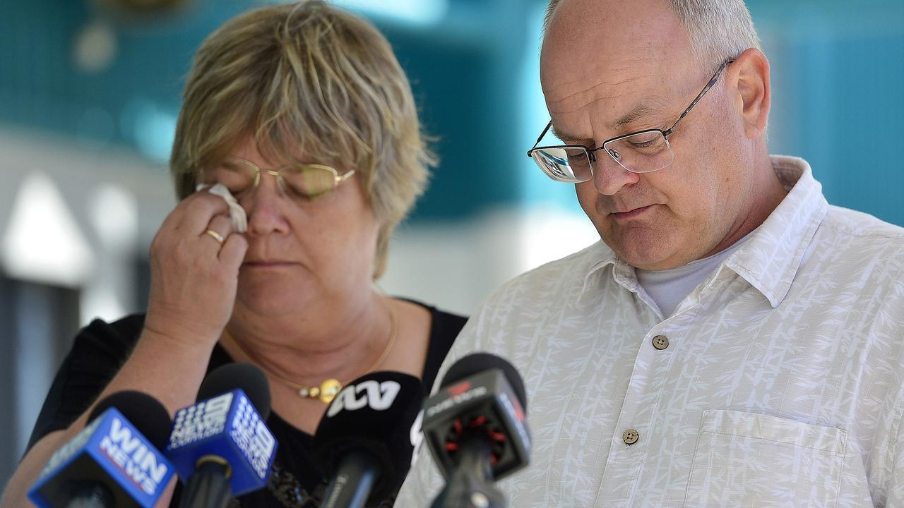 The parents of Lukas Orda have made an emotional plea for the search for the missing crew of the Gulf Livestock 1 to resume.