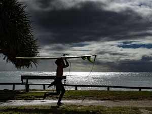 50MM FALLS: Coast braces for storms, heavy downpour