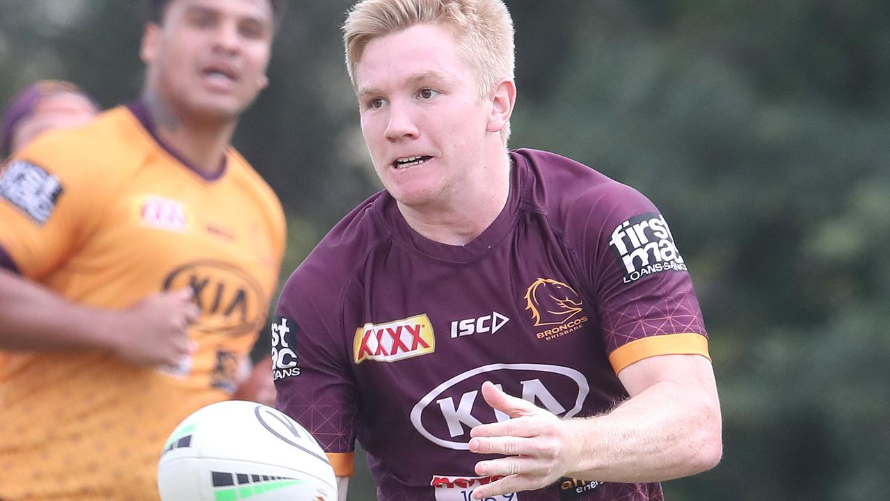 Tom Dearden has a bright future at the Broncos. Picture: Jono Searle/Getty Images