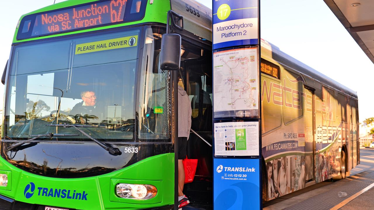 TransLink data shows that during the 2019/20 financial year, 92 per cent of Sunshine Coast and Noosa bus passengers paid their fare. Picture: John McCutcheon