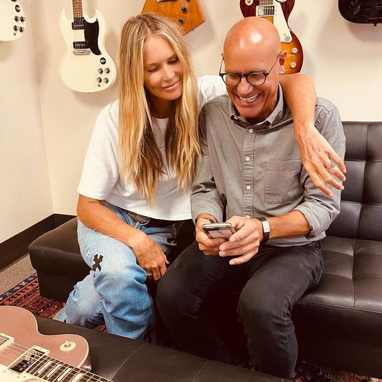 Elle with her friend Jim DeCola. Picture: Instagram