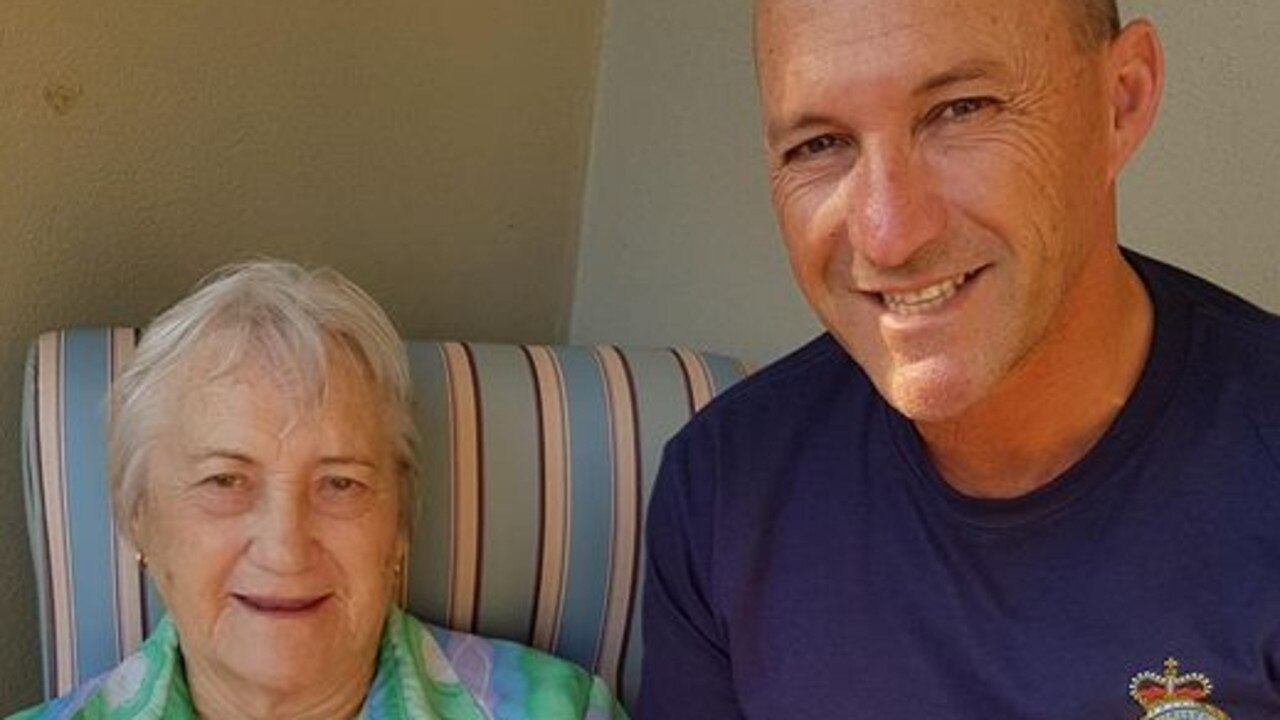Marion, 83, died after a long battle with Alzheimer's. Her son Glenn (pictured) was unable to say goodbye.