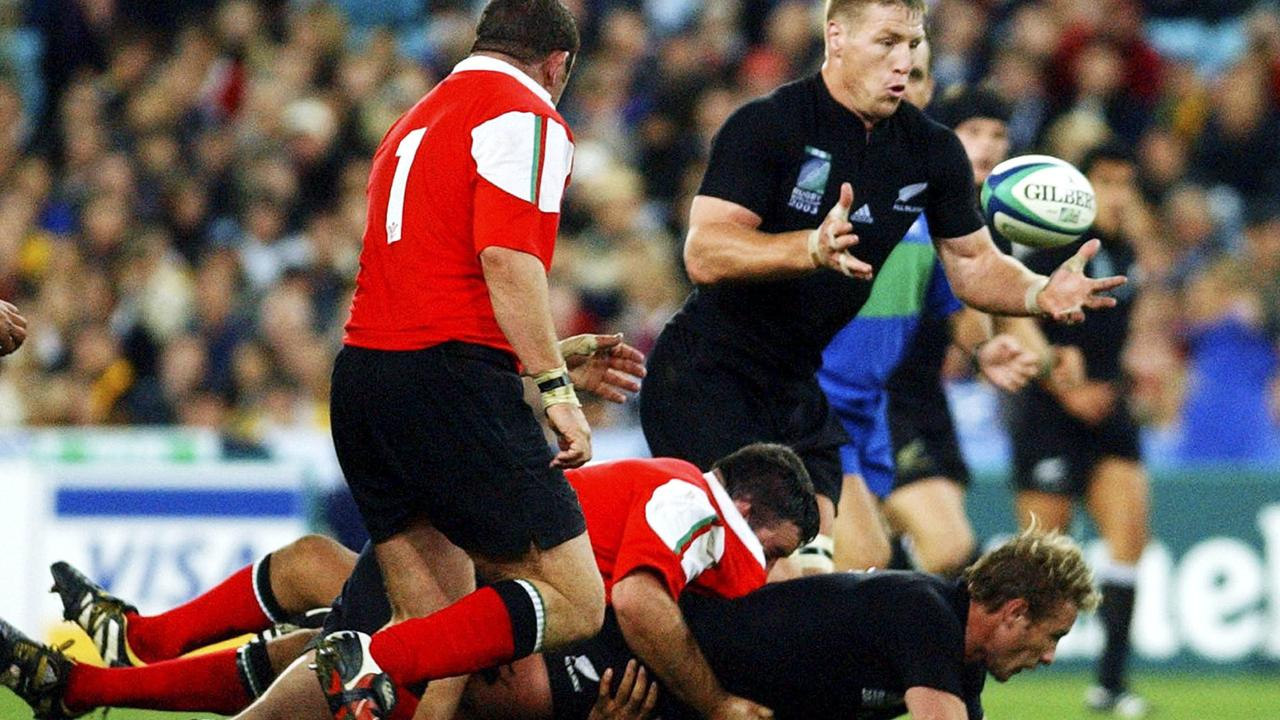 Thorn as an All Black was an awe-inspiring sight.