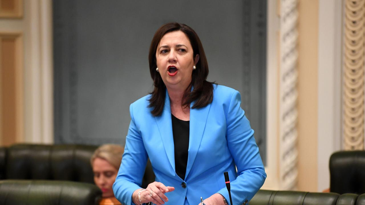 Queensland Premier Annastacia Palaszczuk has been accused of taking border restrictions too far. Picture: NCA NewsWire / Dan Peled