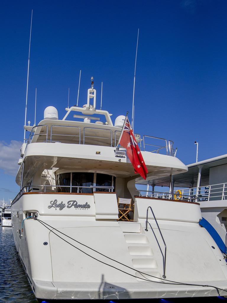 Lady Pamela at Gold Coast City Council Marina Coomera