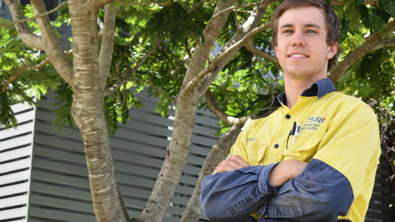 Gympie's star tradesman Patrick Brennan has also been nominated for a 2020 7NEWS Young Achiever award.