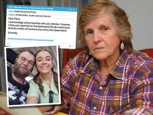 Told she can't bury her son – by early morning email
