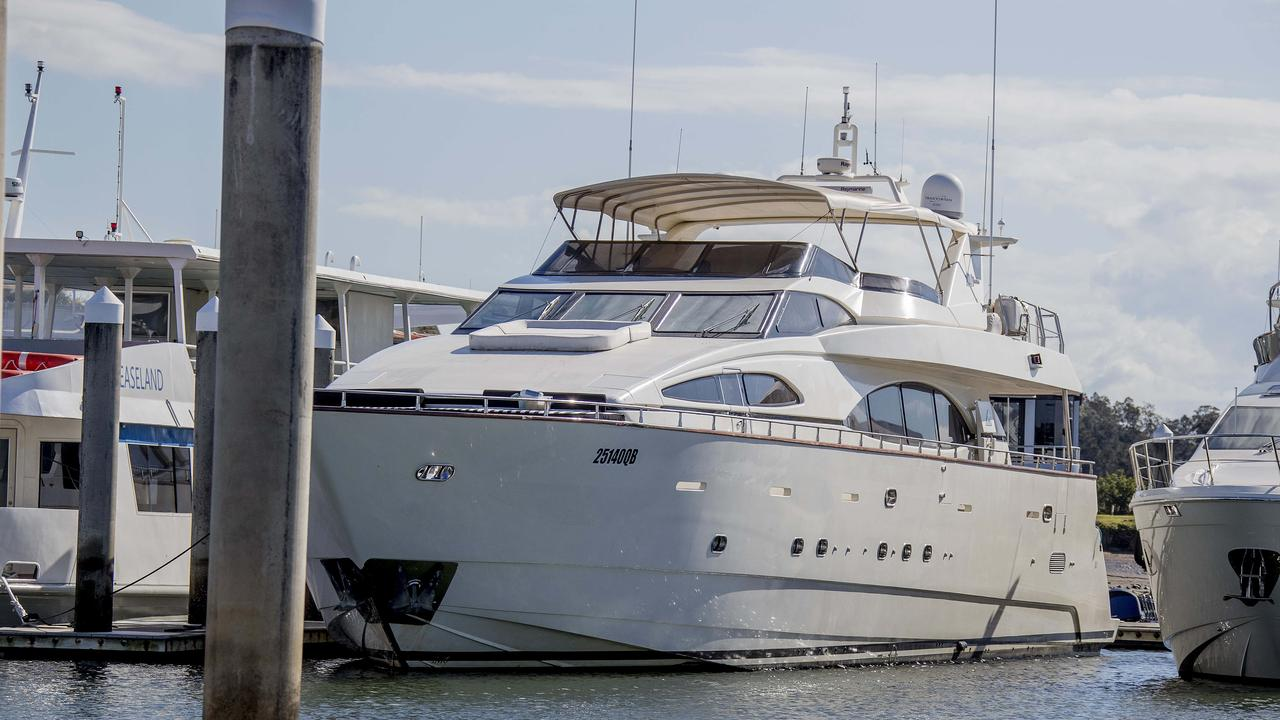 The Lady Pamela at Gold Coast City Council Marina in Coomera.