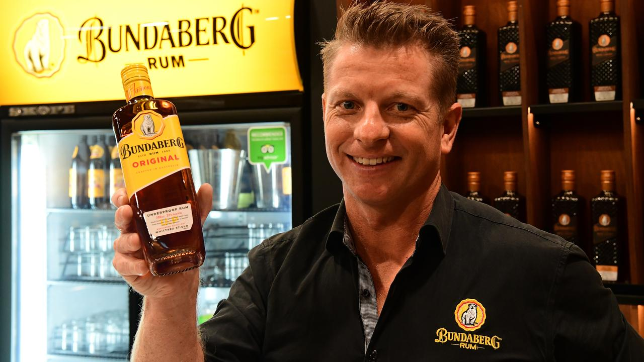 Applications are now open for Bundaberg Rum's $11.5m Raising the Bar fund. Pictured is Bundaberg Rum Marketing and Experience Manager Duncan Littler. Photo: File.
