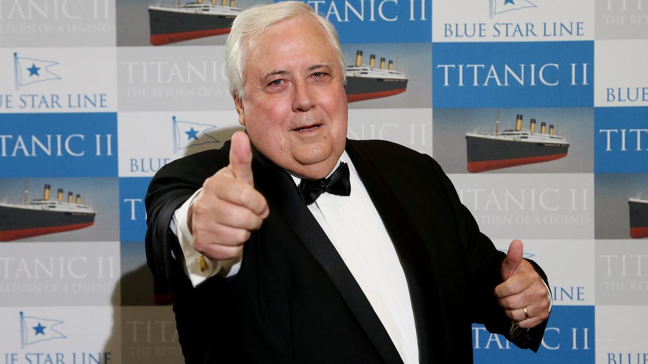 Businessman Clive Palmer. Picture: Stewart McLean