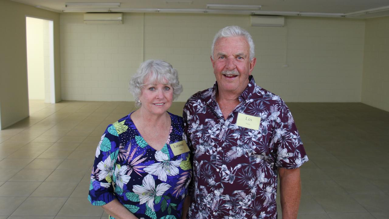 Laraine and Les Frost at the meet the candidate night for the LNP's Ron Harding.