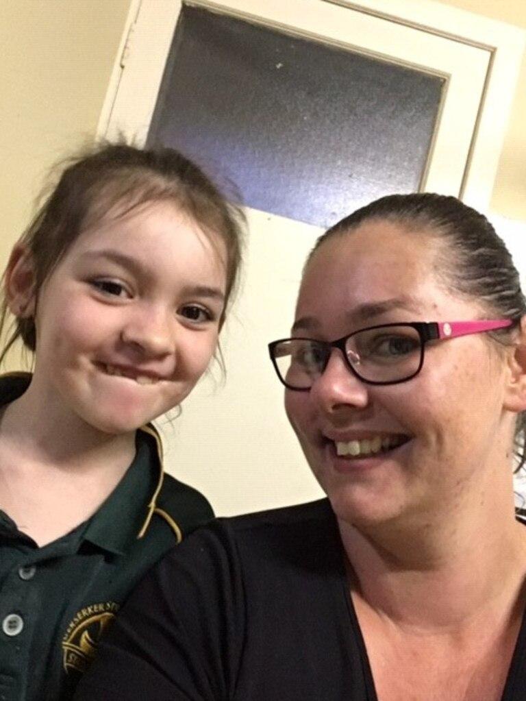 Sarah Crewdson with her daughter Indigo.
