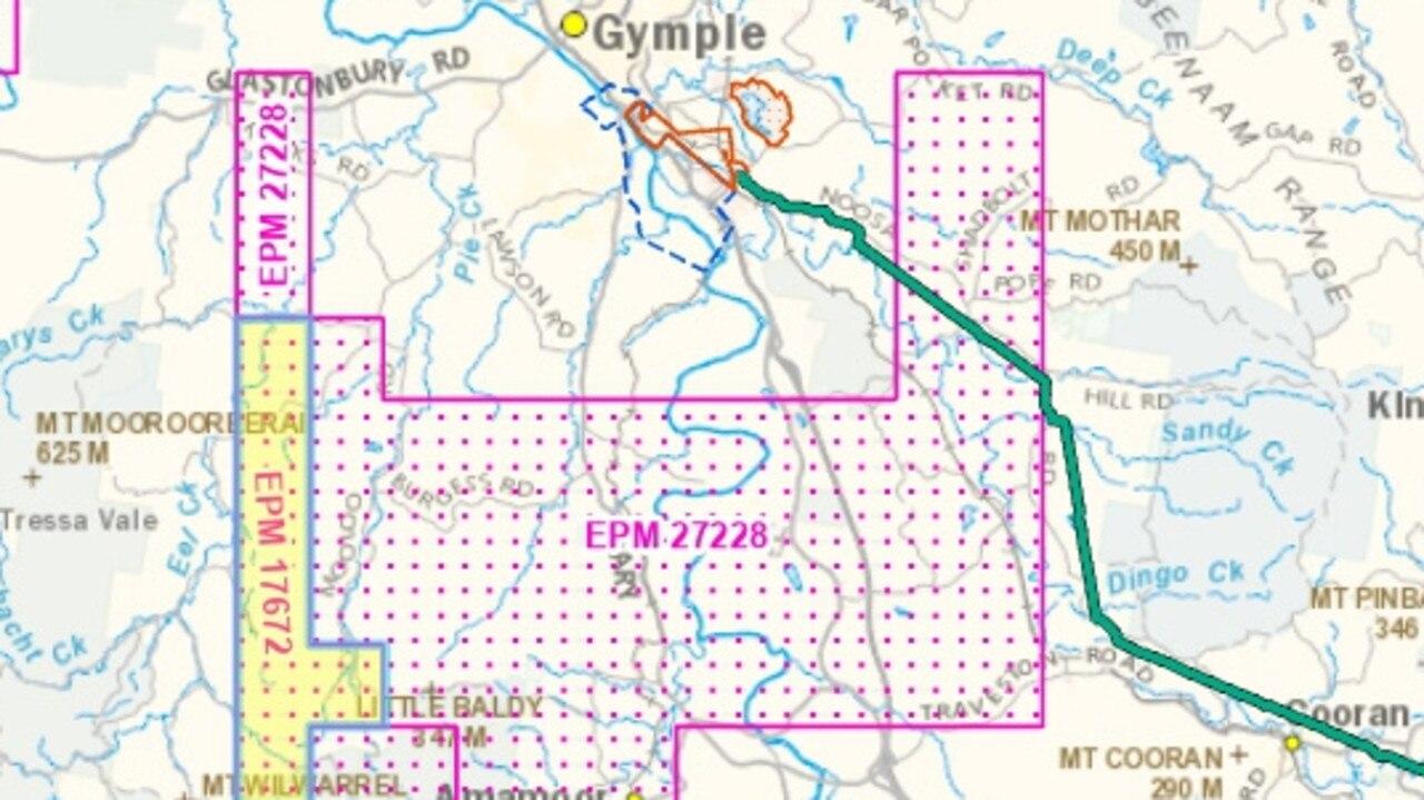 Walla Mines is exploring not far from Amamoor.