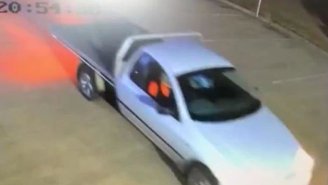 Bundaberg Police are seeking assistance from members of the public to help identify the vehicle and people involved. Photo: Contributed
