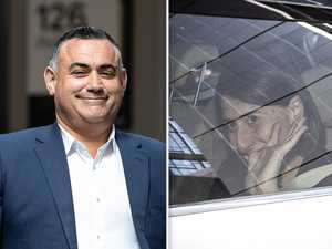 National leader's Angry texts pushed NSW Premier to the edge