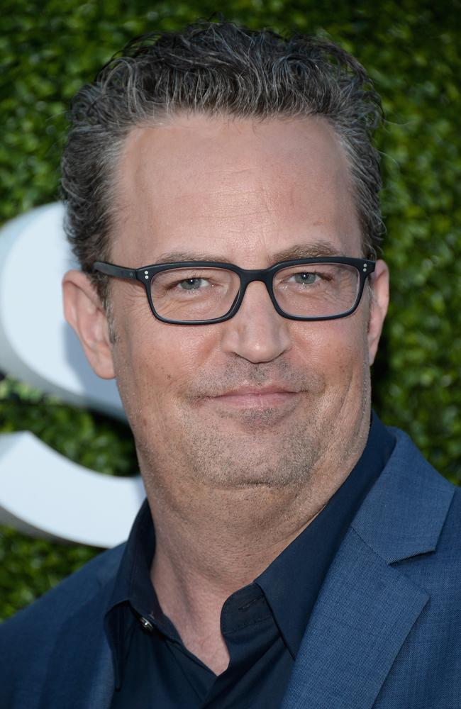 Demons … Matthew Perry, who played Chandler Bing, has battled drug and alcohol issues since Friends finished. Picture: Matt Winkelmeyer
