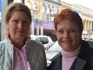 TOUCHY TOPICS: Pauline quizzed on jailed mayor, border battle