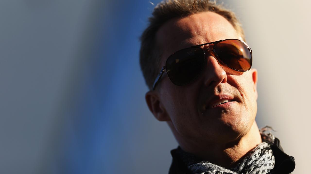 Michael Schumacher is fighting back.