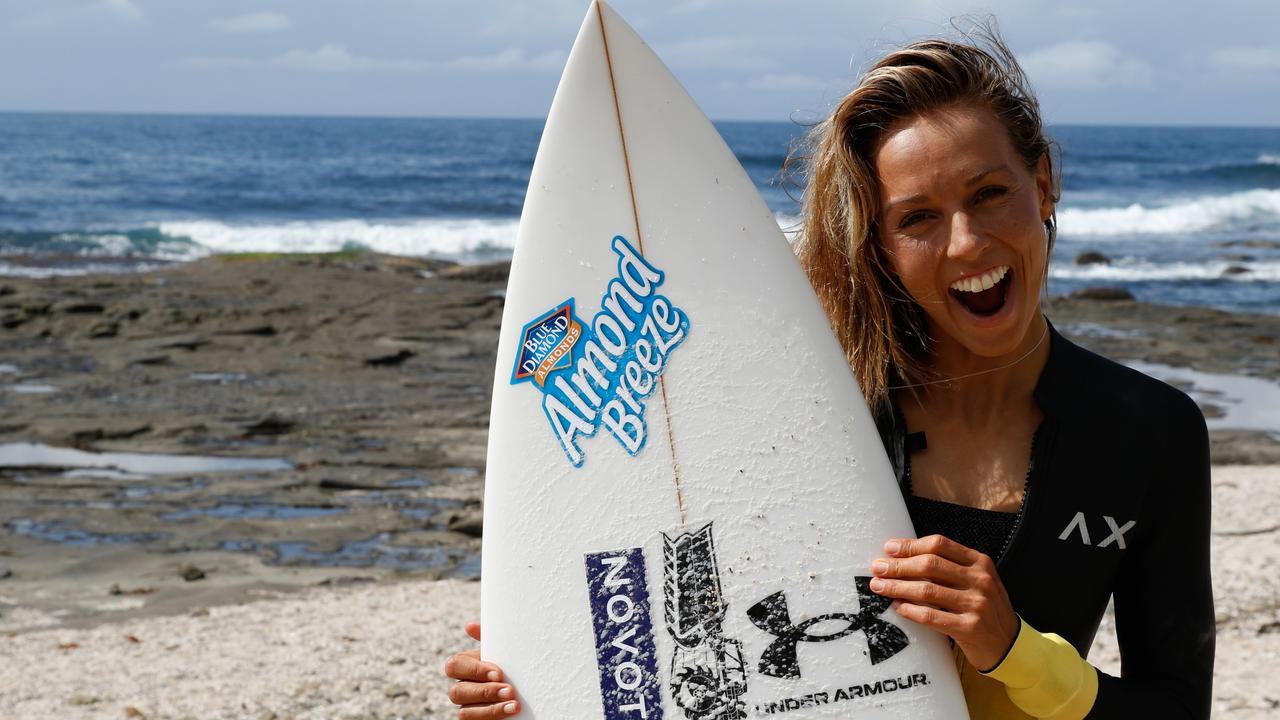 Sally Fitzgibbons has used the COVID-19 enforced shutdown of the World Surf League tour to make herself a more complete surfer.