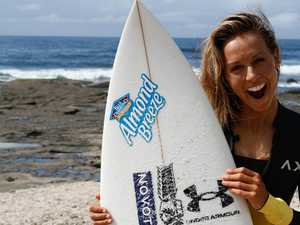 Surfing Sally still has eyes on Olympic gold