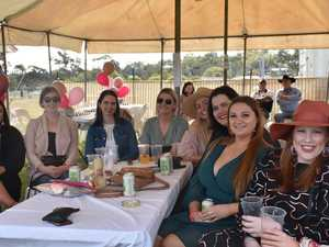LADIES' DAY: Faces in the crowd at Warwick rugby