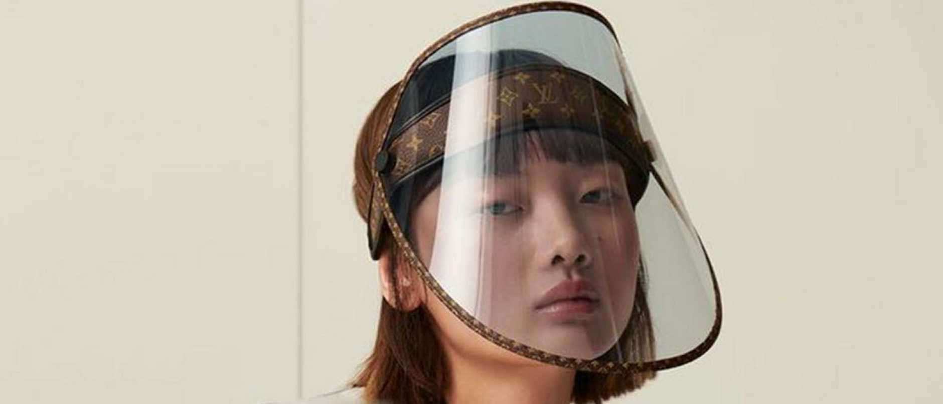 Louis Vuitton's virus-inspired face shield to sell for just under $1k