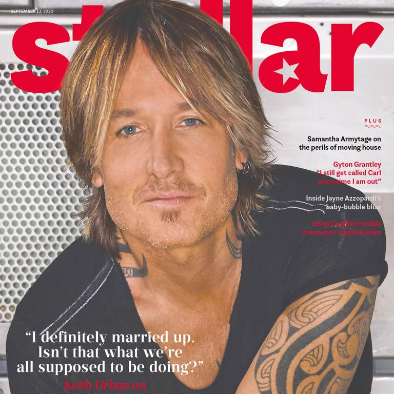 Keith Urban stars on the cover of this Sunday's Stellar.