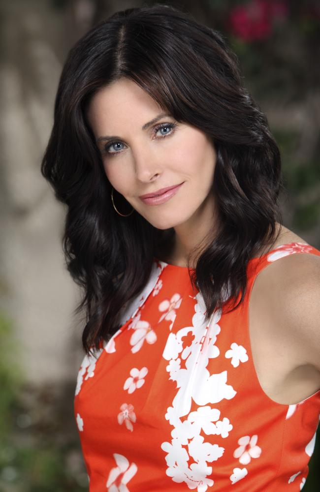 Hot mama … Courteney Cox had success with The Dirt and Cougar Town. Picture: Kevin Foley/ABC