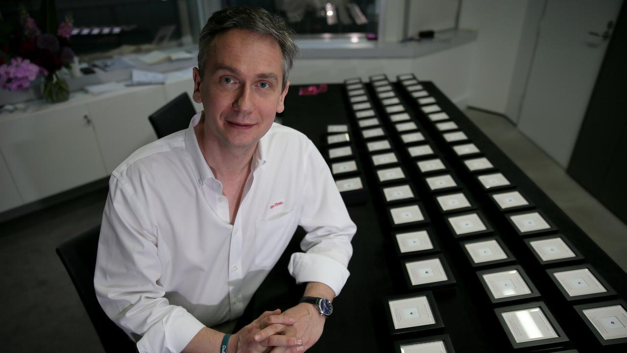 Rio Tinto chief executive JS Jacques. pic Colin Murty The Australian
