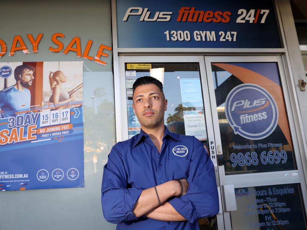 Customers were told to avoid Jacob Awad's gym. Picture: NCA NewsWire/Damian Shaw