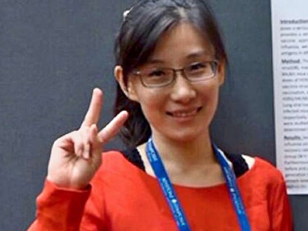 Li-Meng Yan fled to the US from China. Picture: Supplied