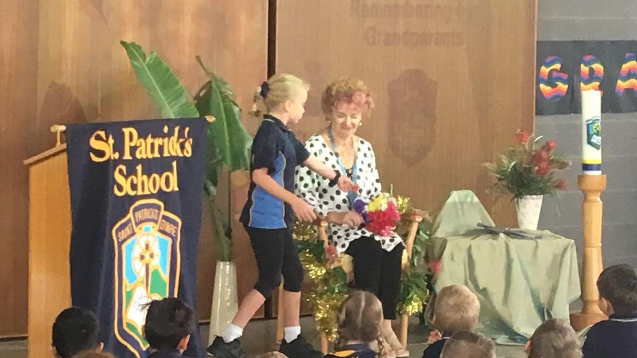 Outgoing St Patrick's Primary School teacher Bernadette Baxter has reflected on a stellar 46-year career.