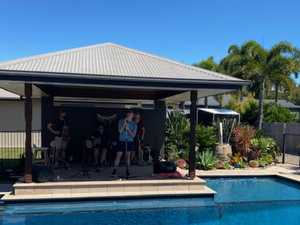 Best mates bring backyard cabaret to Mackay