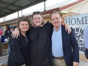 Meg Allen , Tess Enchelmaier and Neil Allen.
