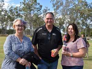 Karen Johnson, Darren Johnson and Jenny Honnery at